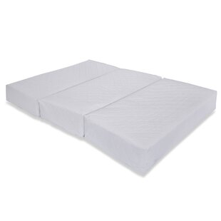 Best Callahan Folding Portable 2 Crib Mattress with Travel Carry Case By Alwyn Home