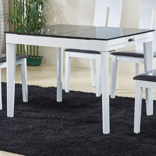 At Home USA Extendable Solid Wood Dining ..