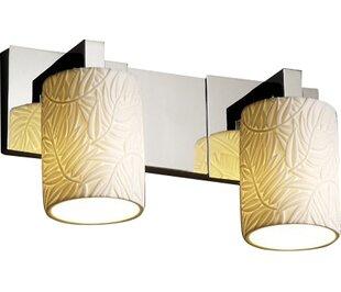 Gudruna 2-Light Vanity Light by Darby Home Co