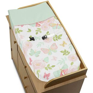 Order Butterfly Floral Changing Pad Cover BySweet Jojo Designs