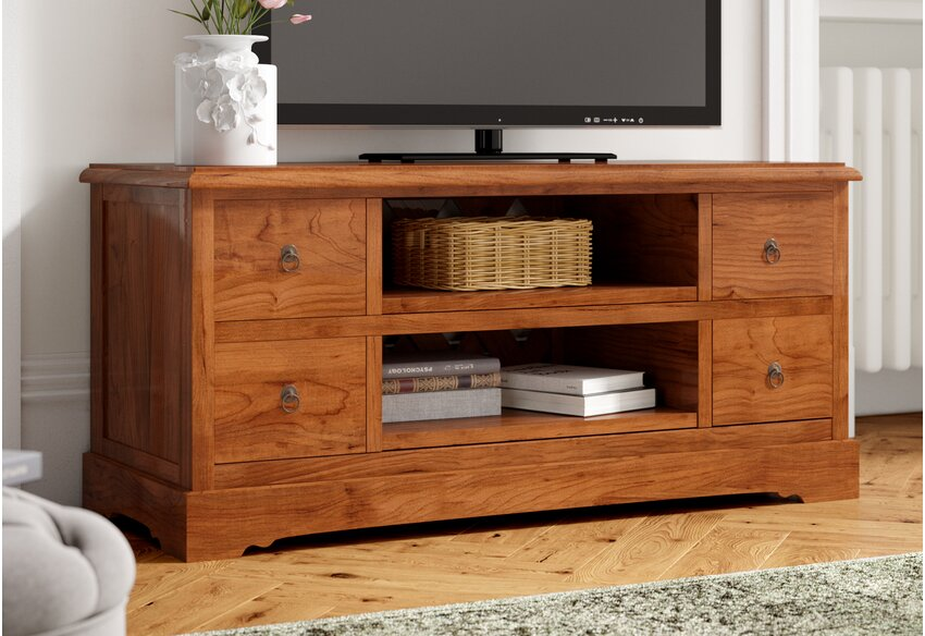 your perfect wooden tv stand
