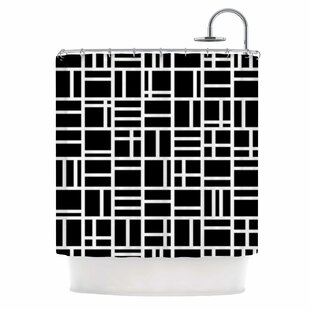 Kutije by Trebam Single Shower Curtain By East Urban Home