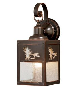 Pittview 1-Light Outdoor Wall Lantern