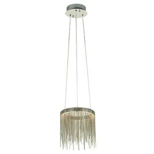 Everly Quinn Lechlade 1-Light LED Novelty Pendant