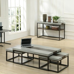 17 Stories Cleavenger 3 Piece Coffee Table Set