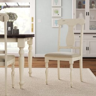 Bridgeview Upholstered Dining Chair (Set of 2) Beachcrest Home