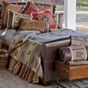 Adhafera Reversible Comforter Set by Loon Peak
