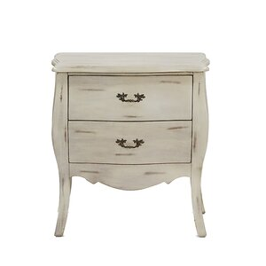Classic Wash 2 Drawer Bombay Chest