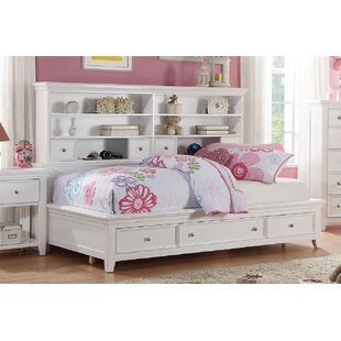 Find Emsworth Contemporary Casual Mate's Bed with Bookcase Back by Harriet Bee Reviews (2019) & Buyer's Guide