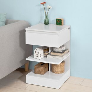 Starki 1 Drawer Bedside Table By 17 Stories