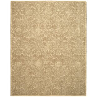 Eidelweiss Sand Area Rug byDarby Home Co