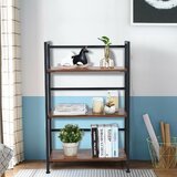 Spero 37 H x 12 W Metal Etagere Bookcase by 17 Stories