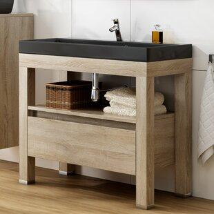 Townsend 1000mm Free-Standing Single Vanity Unit By Ebern Designs