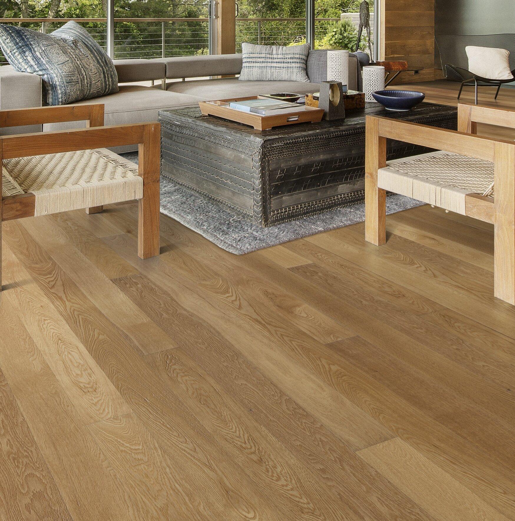 Kahrs Canvas Oak 1 2 Thick X 5 Wide X 73 Length Engineered Hardwood Flooring Wayfair