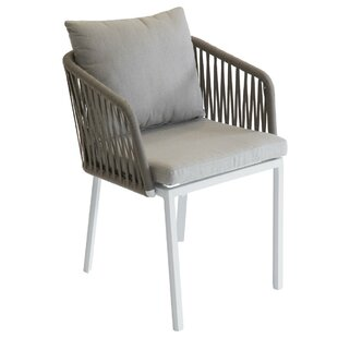 Julii Stacking Garden Chair With Cushion By Sol 72 Outdoor