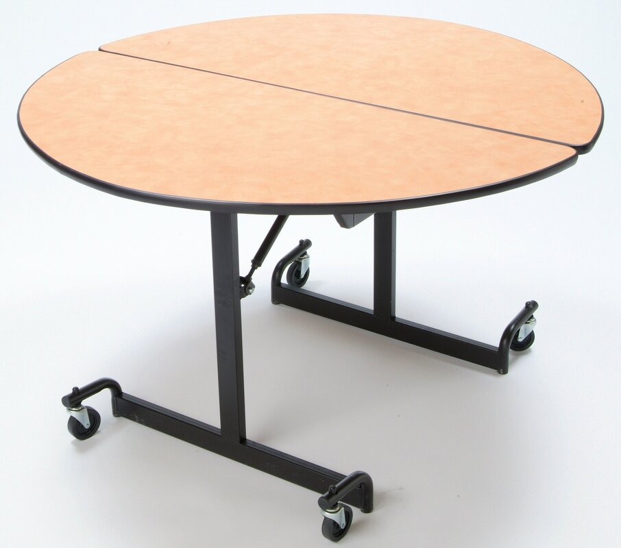 "mitchell 60"" round cafeteria table & reviews 
