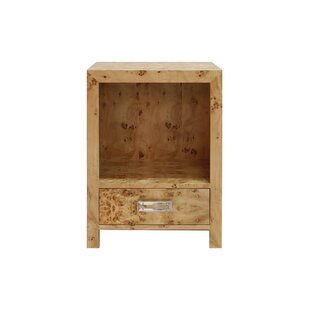 1 Drawer Nightstand by Worlds Away