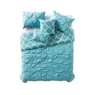 Skidmore 5 Piece Reversible Comforter Set