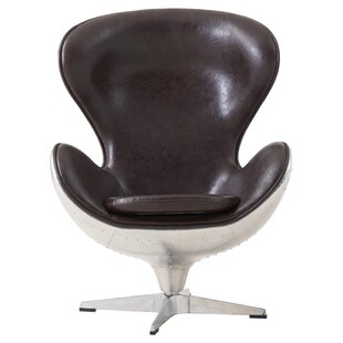 17 Stories Dever Swivel Barrel Chair