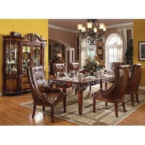 Regner 7 Piece Extendable Dining Table Se..