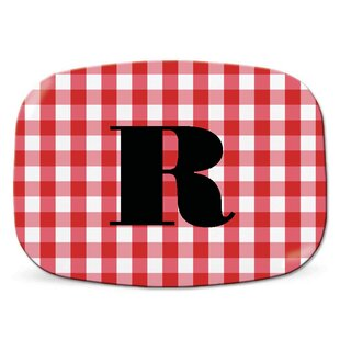 Melamine Personalized Platter By Wildon Home ?