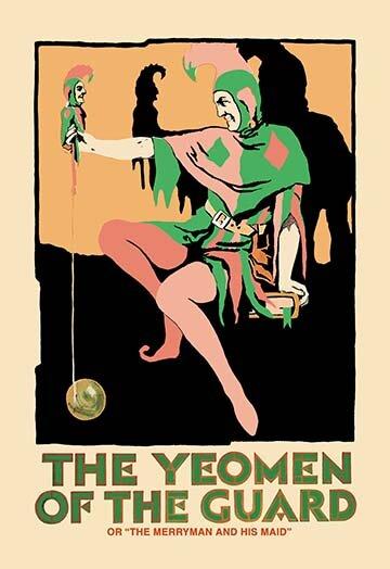 Buyenlarge The Yeomen Of The Guard The Jester Vintage Advertisement Wayfair