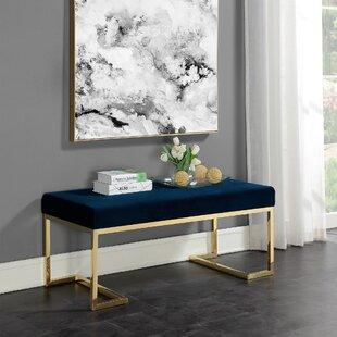 Mercer41 Switzer Upholstered Bench