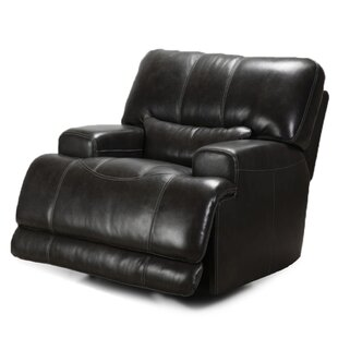 Leather Power Recliner LYKE Home