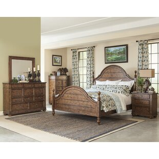 Peatman Platform Configurable Wood Bedroom Set by August Grove