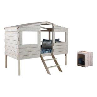 Wander Cabin Loft Bed with Storage by Harriet Bee