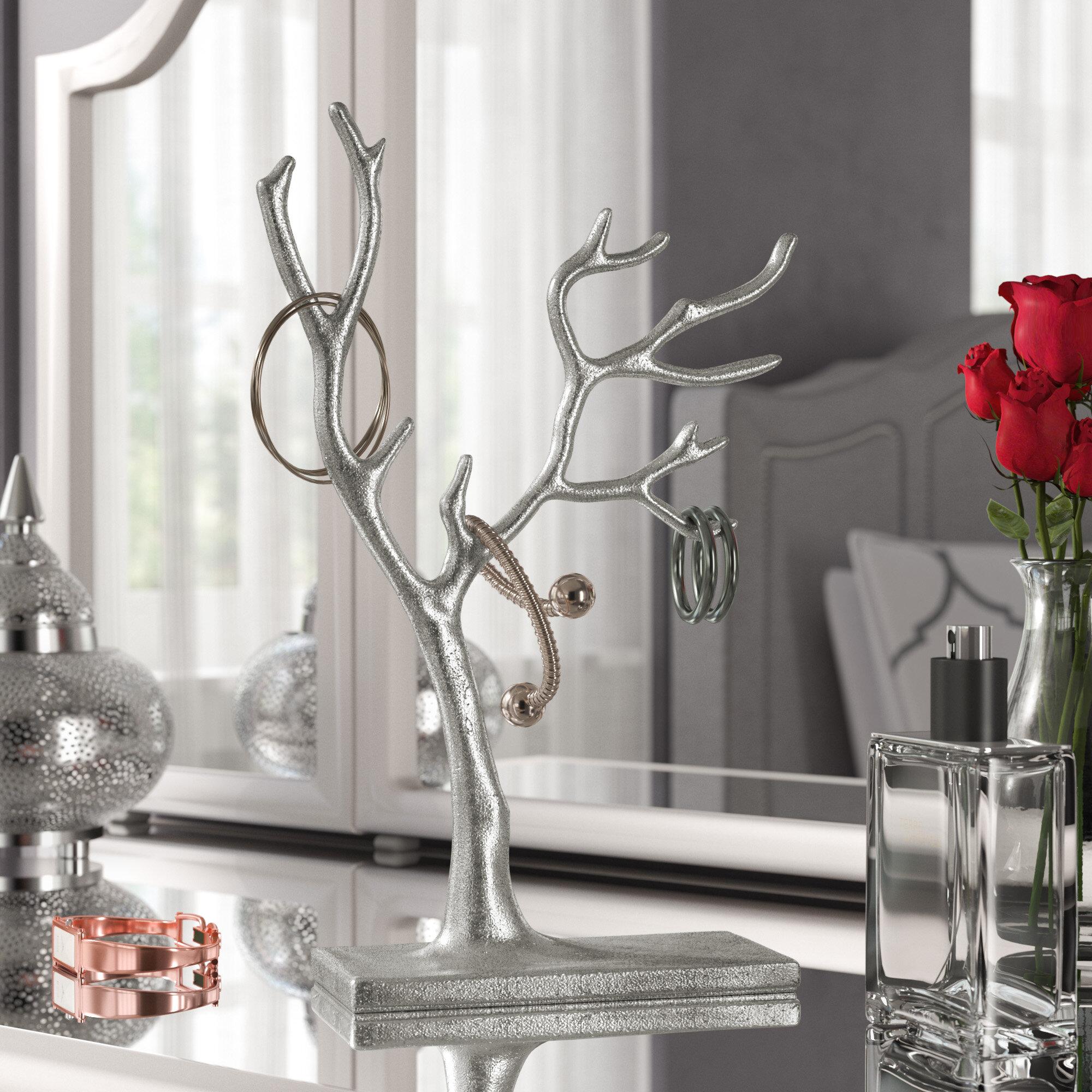 Willa Arlo Interiors Multi Branch Tree Of Life Jewelry Stand Reviews Wayfair