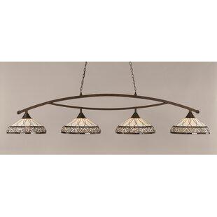 Astoria Grand Austinburg 4-Light Metal Billiard Light