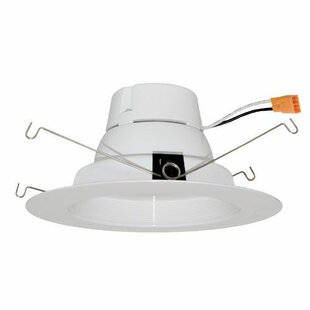 Elco Lighting Round Insert Baffle LED Recessed Retrofit Downlight