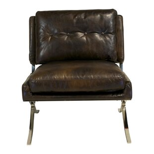 Design Tree Home Capetown Leather Occasional Lounge Chair