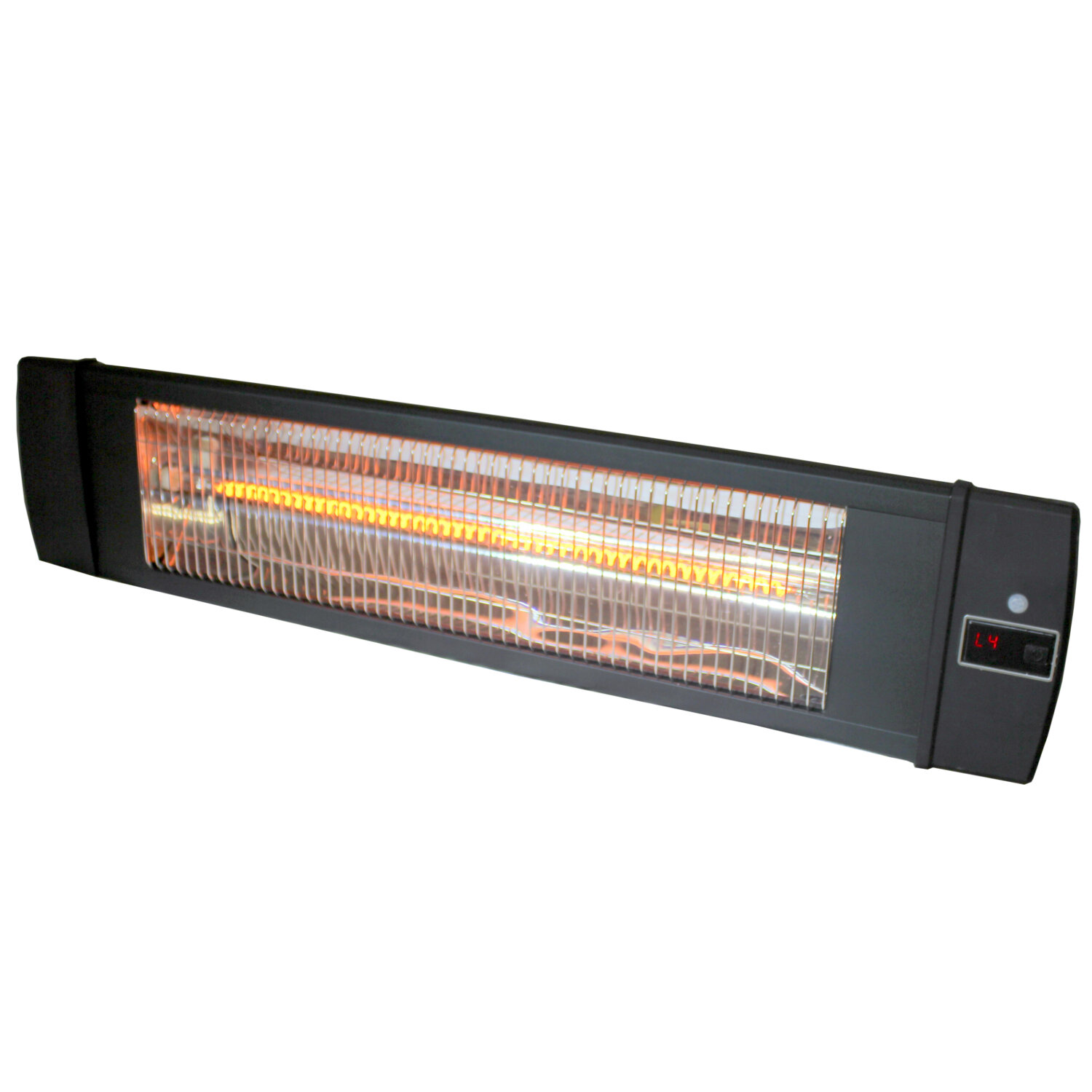 Versonel 1500 Watts Wall Mount Carbon Infrared Indoor Outdoor Heater With  Remote | Wayfair