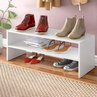 12 Pair Shoe Rack Rebrilliant