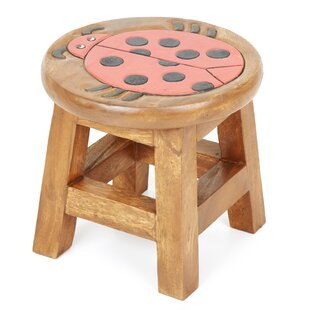 Ladybird Children's Stool By Just Kids