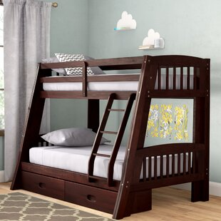 Viv + Rae Madyson Twin over Full Bunk Bed with Storage