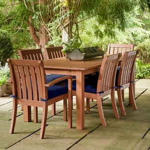 Rossi 7-Piece Dining Set with Cushions by Birch Lane? Heritage