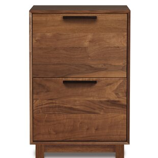 Copeland Furniture Linear Office Storage 2 Drawer Vertical Filing Cabinet
