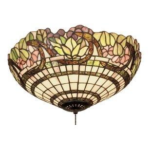 Meyda Tiffany Handel Grapevine 3-Light Flush Mount
