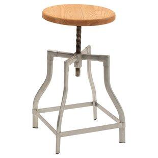 Trent Austin Design Iroh Adjustable Height Swivel Bar Stool