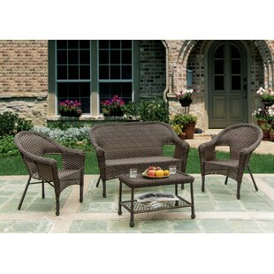 Heider 4 Piece Conversation Set