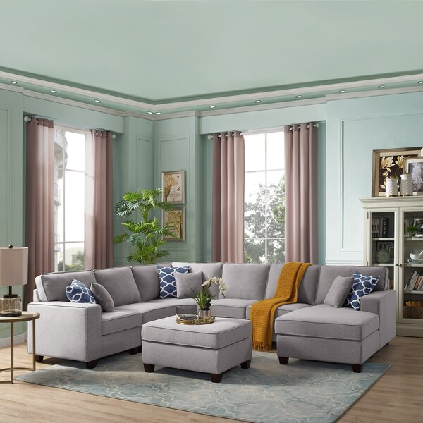 Awesome Build Your Own Sectional Wayfair Theyellowbook Wood Chair Design Ideas Theyellowbookinfo