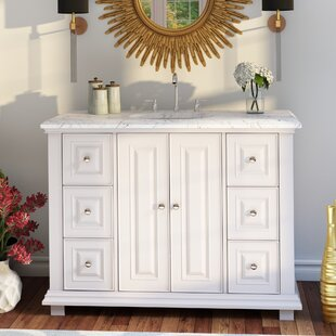 Affordable Ballimamore Transitional 48 Single Bathroom Vanity Set ByDarby Home Co