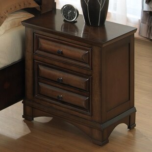 North Adams 2 Drawer Nightstand by Charlton Home