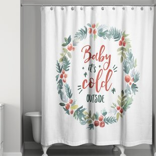 Williams Baby It's Cold Outside Single Shower Curtain