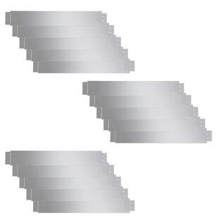 1m X 0.15m Edging (Set Of 15) By Symple Stuff
