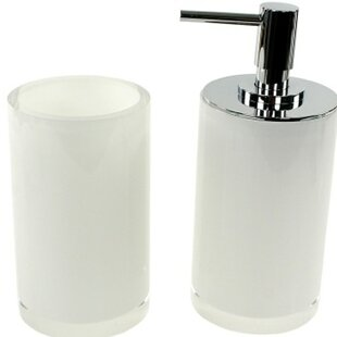 Gedy by Nameeks Yucca 2-Piece Free Standing Bathroom Accessory Set