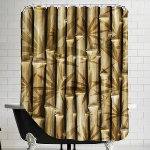 Bamboo Nature Single Shower Curtain